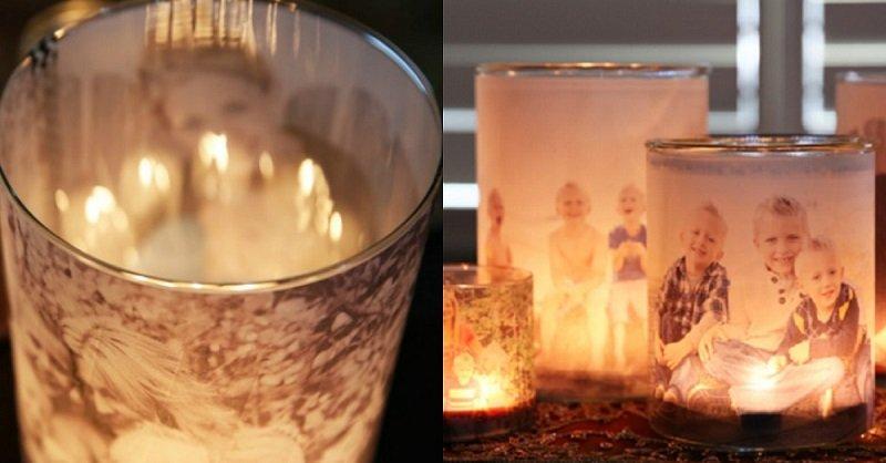 свеча с фото