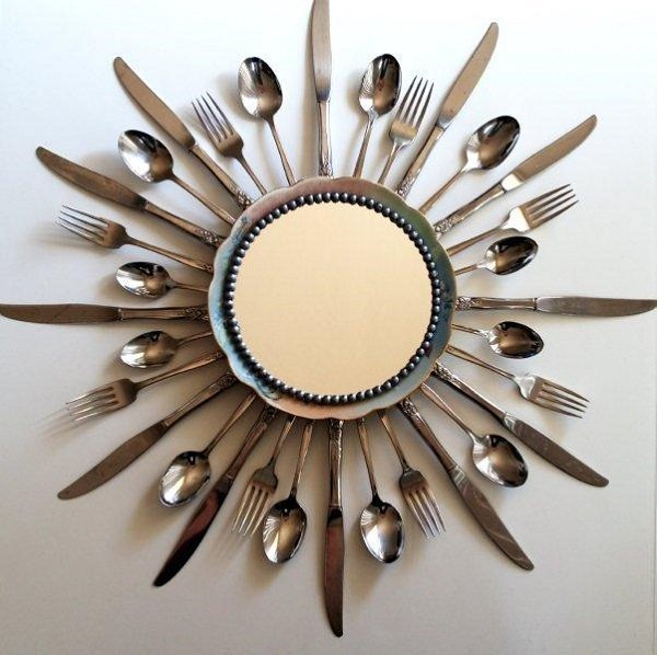 как украсить зеркало