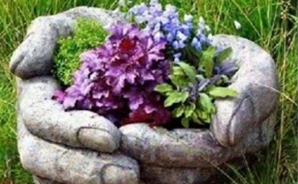декоративные клумбы для цветов