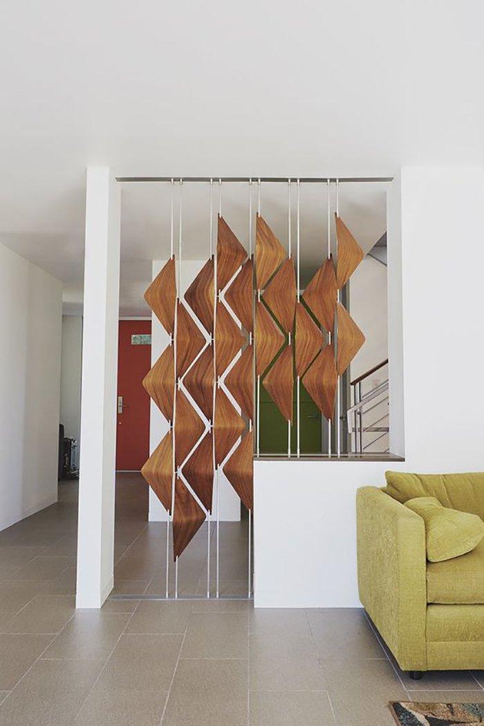 Новости PRO Ремонт - Как создать квартиру мечты для большой семьи на площади 41 м². Кто бы мог подумать… декоративные перегородки