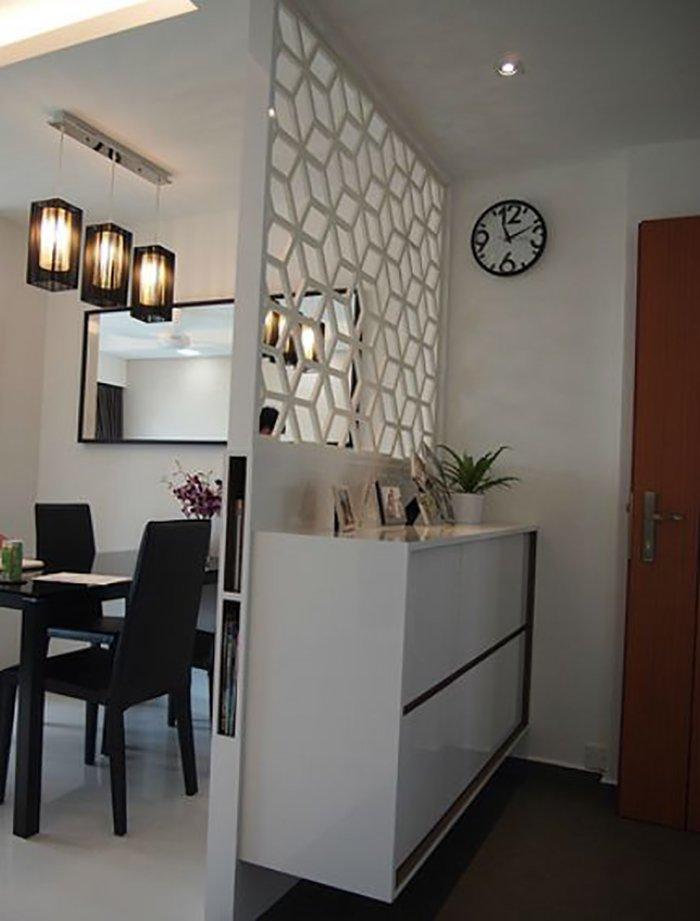 Новости PRO Ремонт - Как создать квартиру мечты для большой семьи на площади 41 м². Кто бы мог подумать… декоративные перегородки для кафе