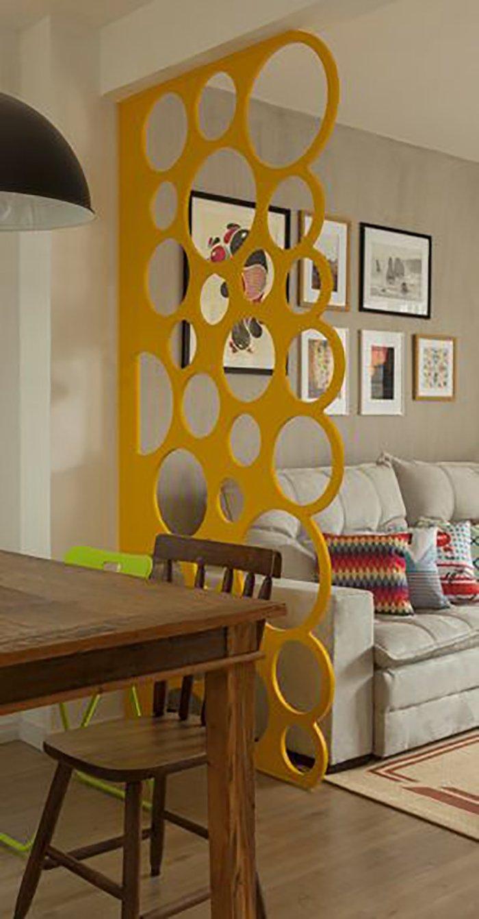 Новости PRO Ремонт - Как создать квартиру мечты для большой семьи на площади 41 м². Кто бы мог подумать… декоративные перегородки из фанеры