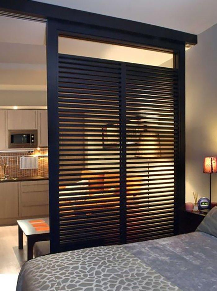 Новости PRO Ремонт - Как создать квартиру мечты для большой семьи на площади 41 м². Кто бы мог подумать… декоративные перегородки из бамбука