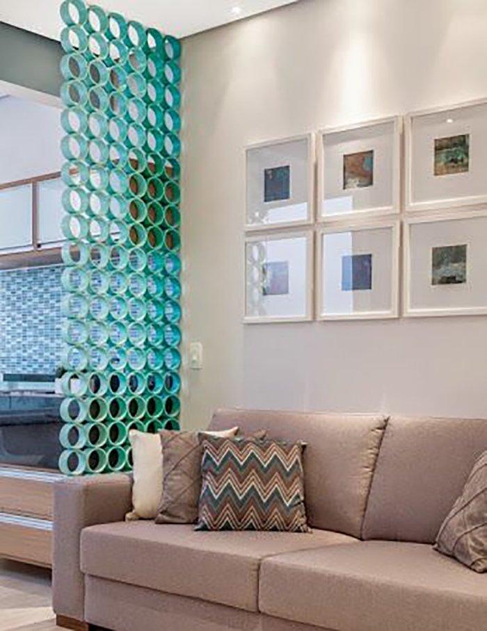 Новости PRO Ремонт - Как создать квартиру мечты для большой семьи на площади 41 м². Кто бы мог подумать… декоративные перегородки из кирпича