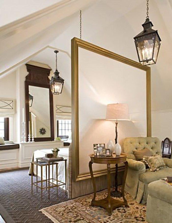 Новости PRO Ремонт - Как создать квартиру мечты для большой семьи на площади 41 м². Кто бы мог подумать… декоративные перегородки из гипсокартона