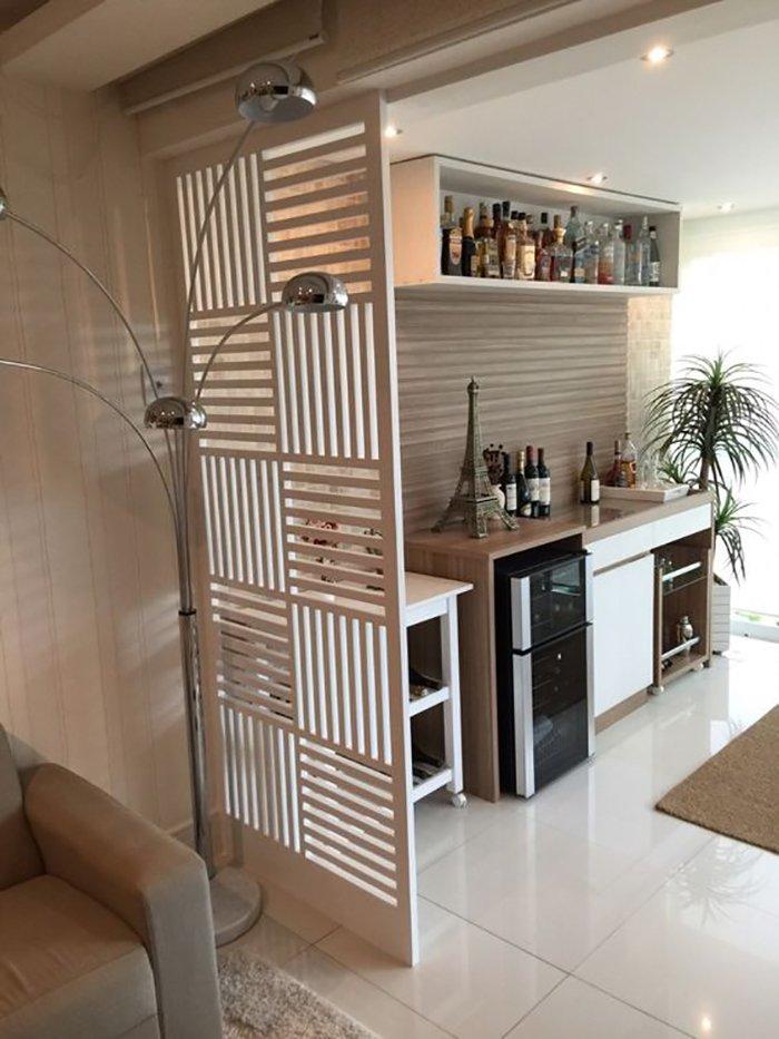 Новости PRO Ремонт - Как создать квартиру мечты для большой семьи на площади 41 м². Кто бы мог подумать… декоративные перегородки с гипсокартона