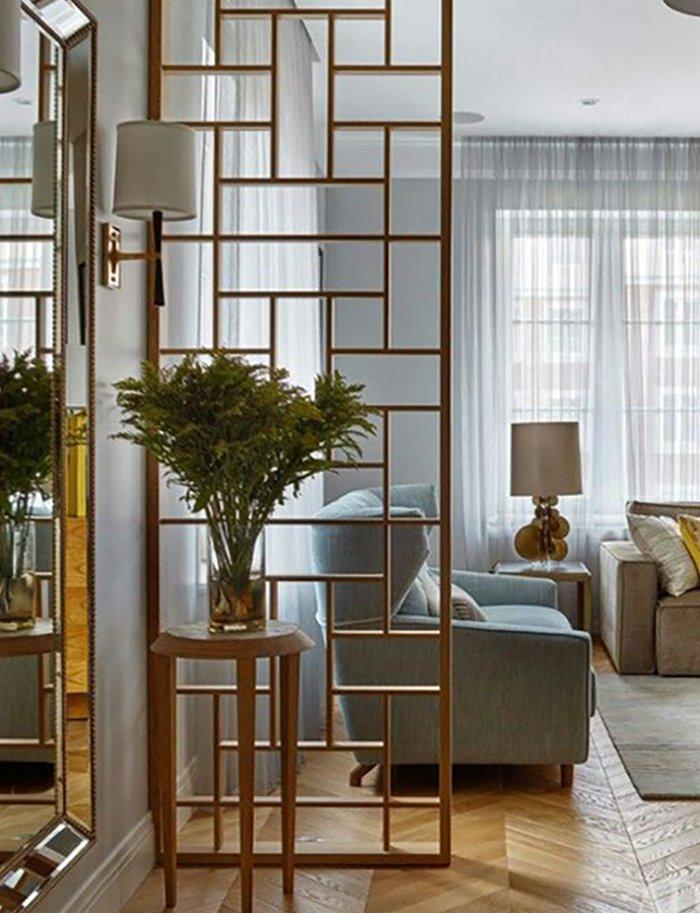 Новости PRO Ремонт - Как создать квартиру мечты для большой семьи на площади 41 м². Кто бы мог подумать… декоративные перегородки в саду