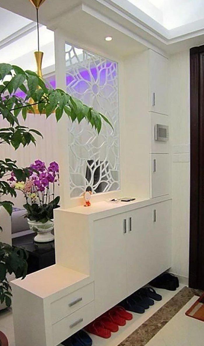 Новости PRO Ремонт - Как создать квартиру мечты для большой семьи на площади 41 м². Кто бы мог подумать… декоративные перегородки в доме