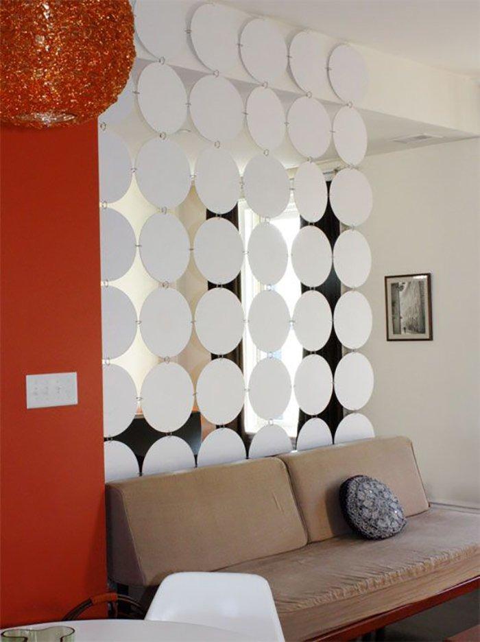 Новости PRO Ремонт - Как создать квартиру мечты для большой семьи на площади 41 м². Кто бы мог подумать… декоративные перегородки в ванной