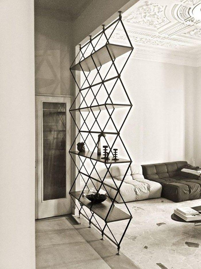 Новости PRO Ремонт - Как создать квартиру мечты для большой семьи на площади 41 м². Кто бы мог подумать… декоративные перегородки в студии