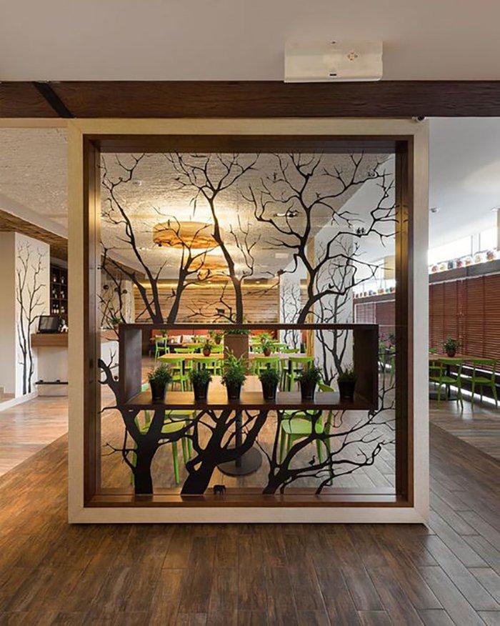 Новости PRO Ремонт - Как создать квартиру мечты для большой семьи на площади 41 м². Кто бы мог подумать… декоративные перегородки из мдф