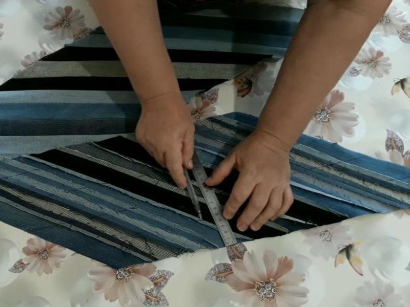Наглядный пример использования старых джинсов в хозяйстве, где ничего не пропадает Вдохновение,Советы,Декор,Джинсы,Интерьер,Лайфхаки,Подушки,Рукоделие,Хобби,Шитье