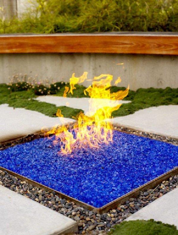 декоративный огонь фото