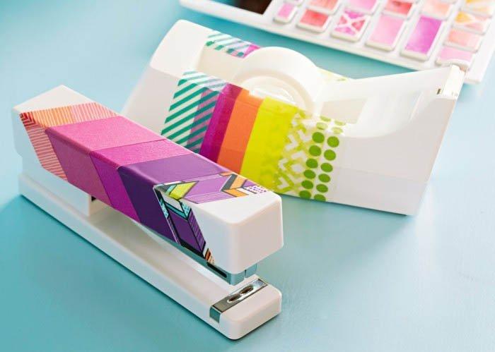 цветной скотч для ногтей