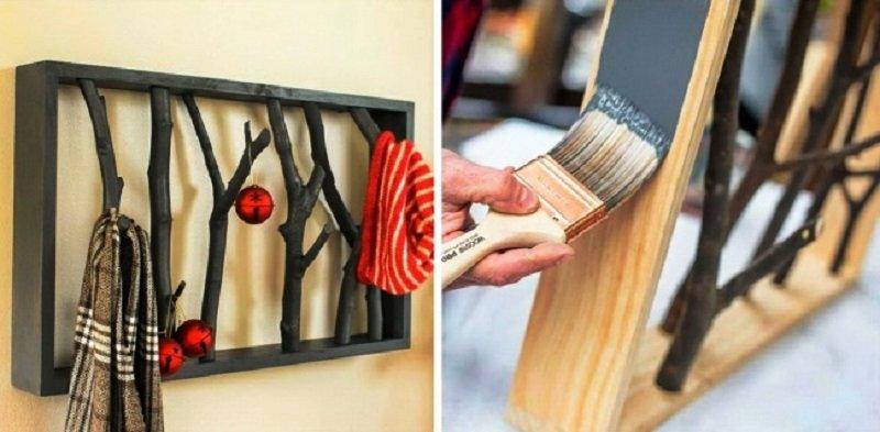 как украсить интерьер дома своими руками