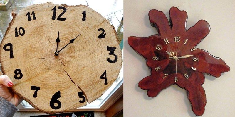 hodinky z dreva