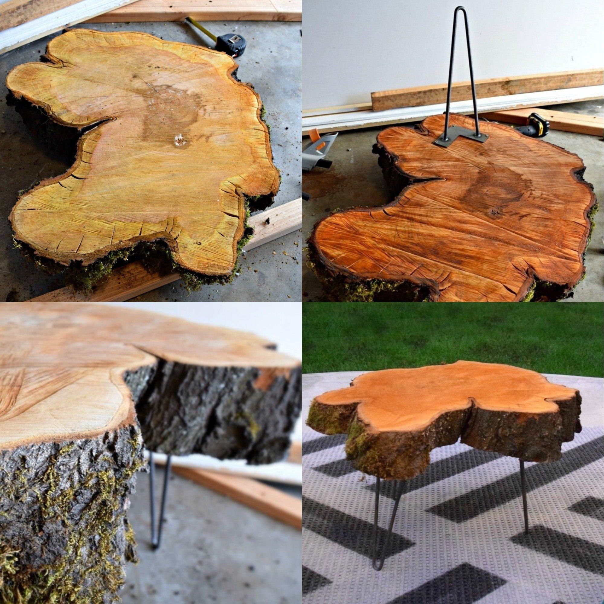 dizajn nábytku zo stromu