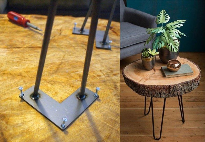stôl s vlastnými rukami