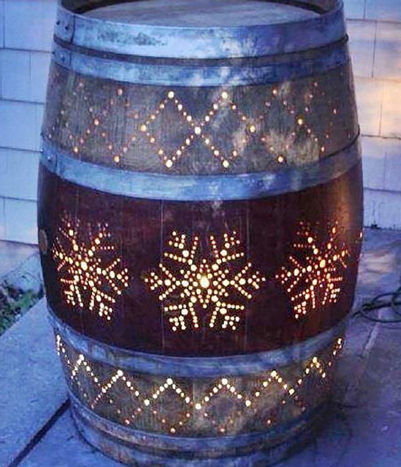 деревянные бочки для вина