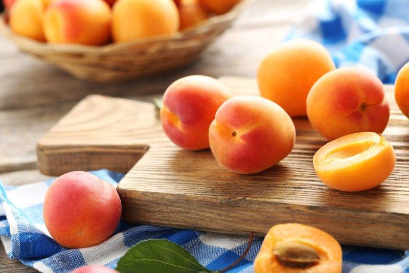 Десерт из абрикосов
