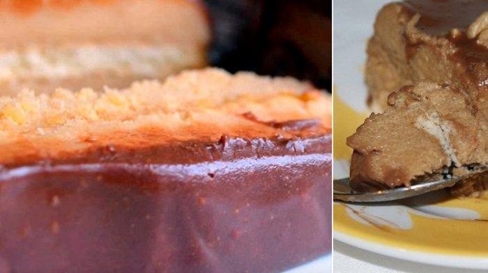 десерт из манки и какао