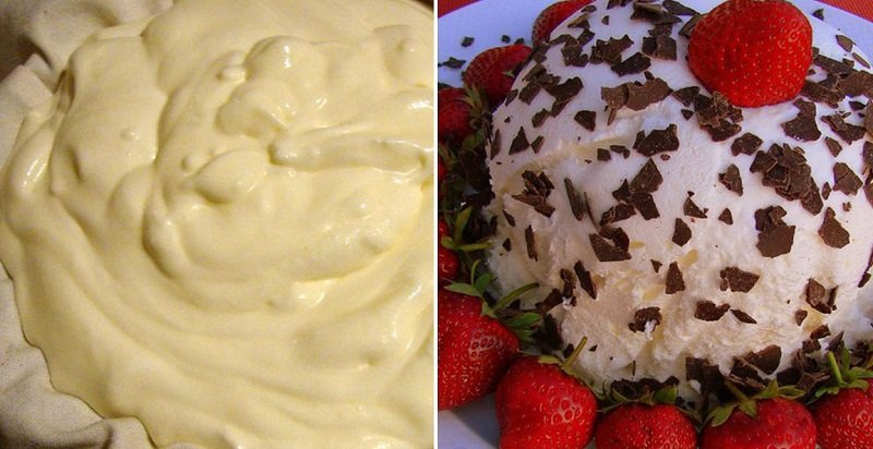 Десерт из йогурта и сливок: простой способ приготовления