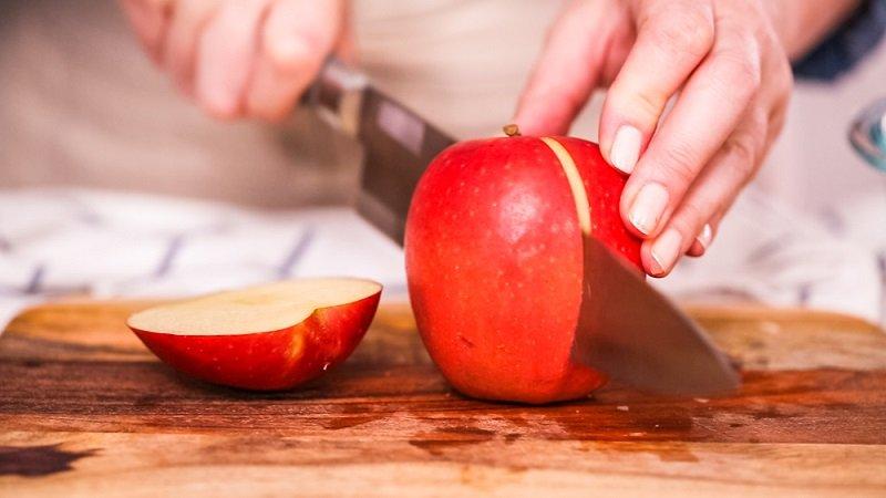 десерт с яблоками без выпечки