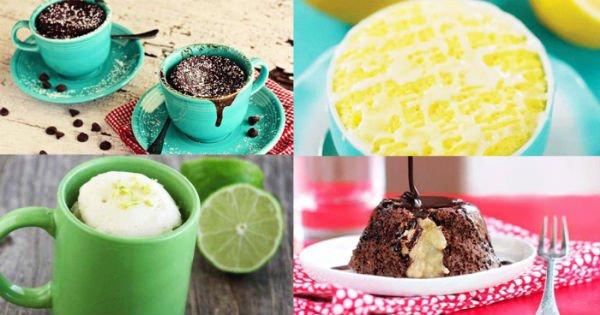 Крутая идея, когда нет времени: всего 2 минуты — и лучшие десерты из микроволновки готовы!