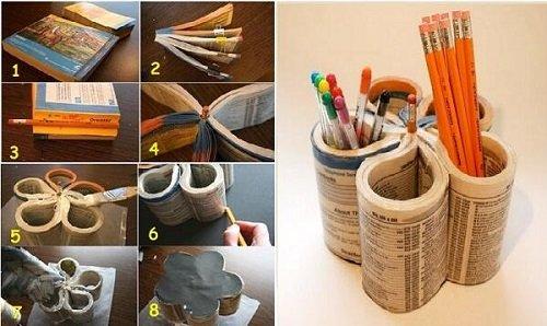 стаканчики для карандашей