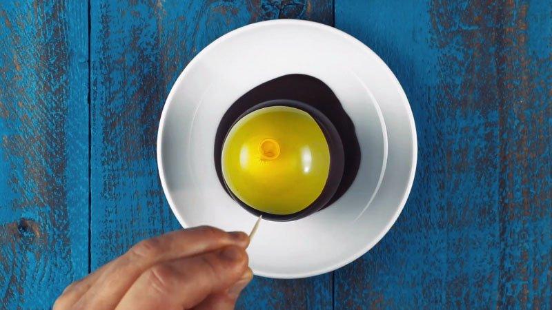 вкусное шоколадное яйцо