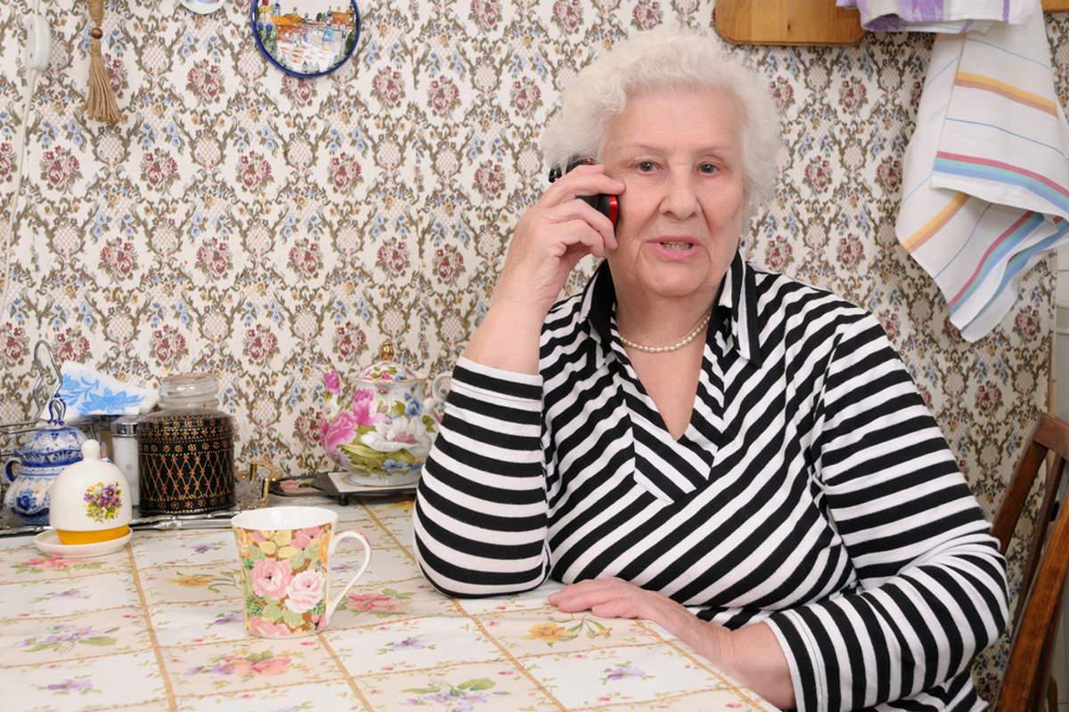 Дома у свекрови идеальный порядок, потому беспокойная внучка ей не нужна