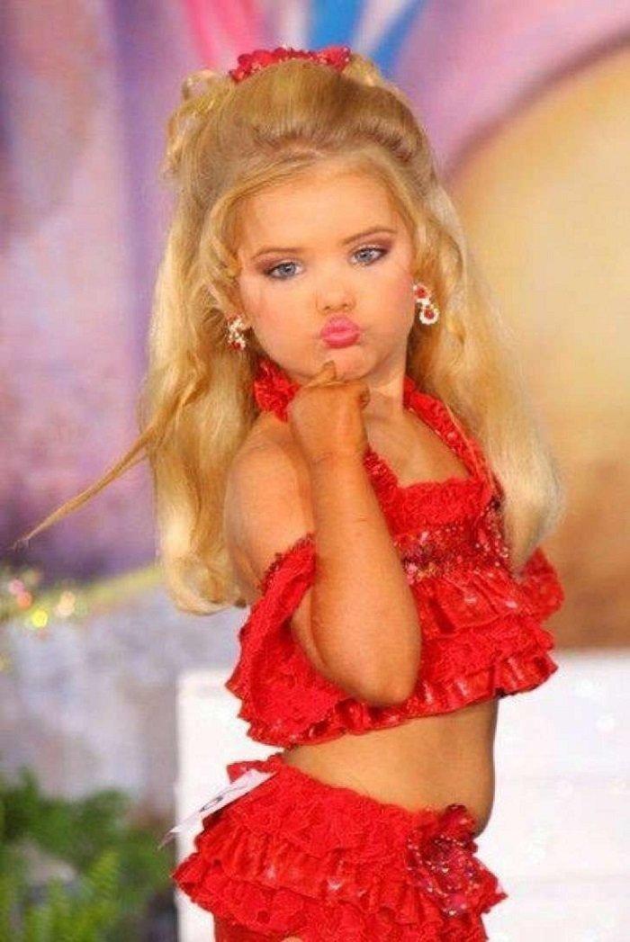 участие в детском конкурсе красоты