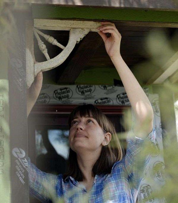 Ребекка Полсон и ее дом на колесах