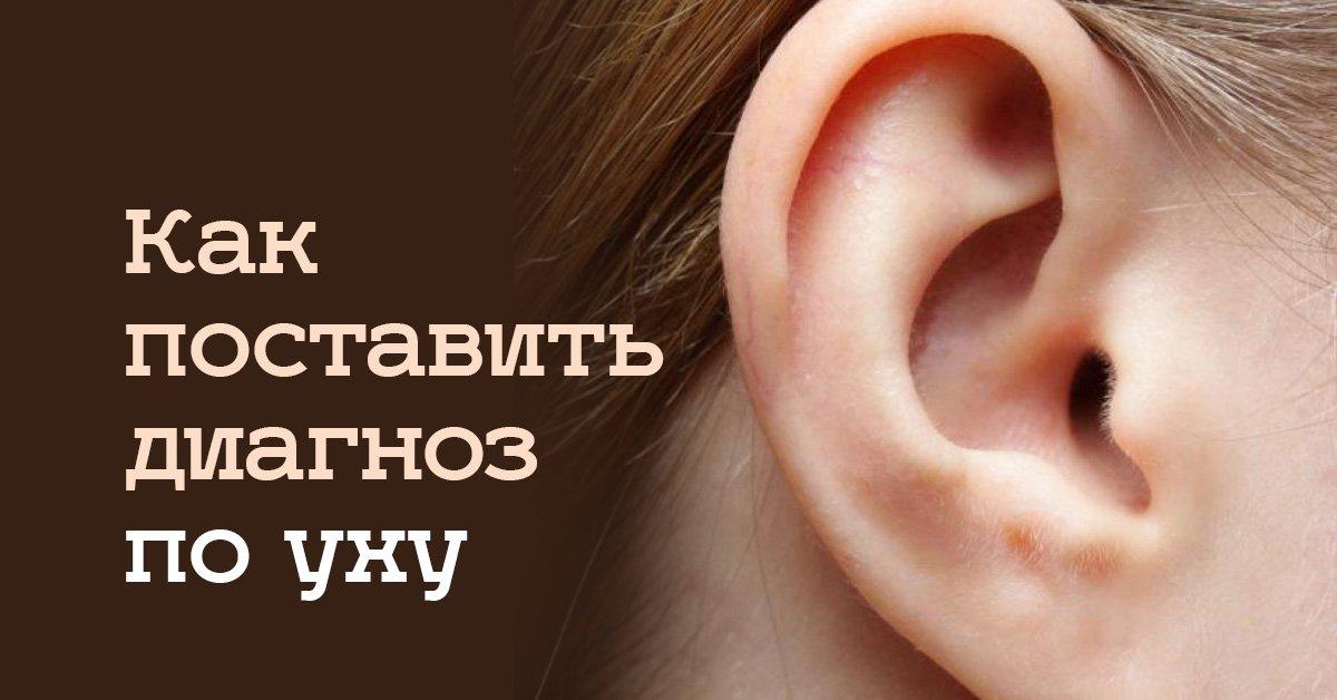 Внимательно посмотрев на уши, можно многое узнать о своем здоровье! Незаурядная диагностика.