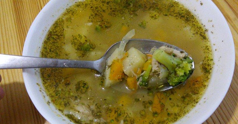 диетический куриный суп без картошки