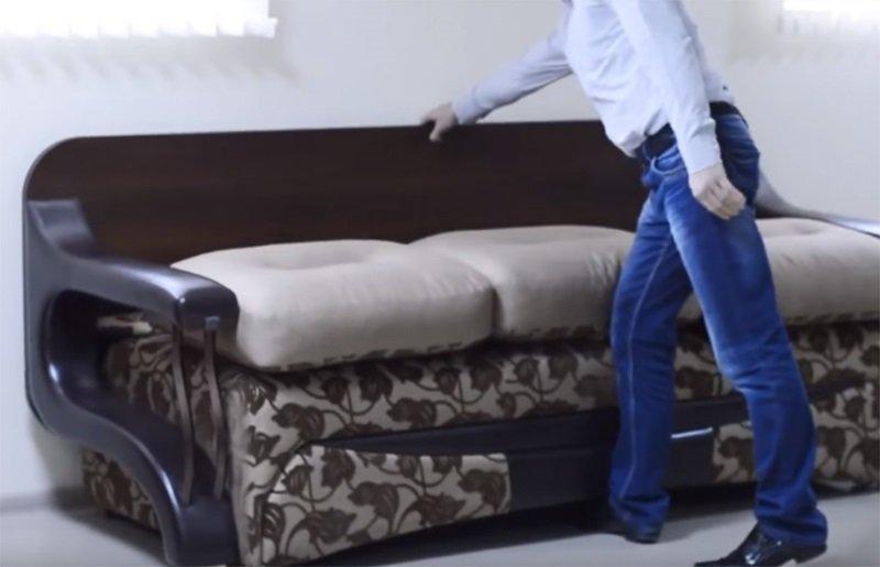 опускаем подушки