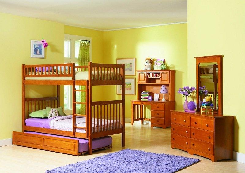 стильное решение для детской спальни