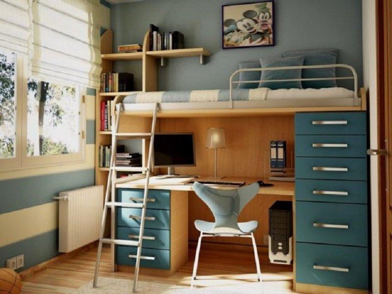 практичные спальни для детей