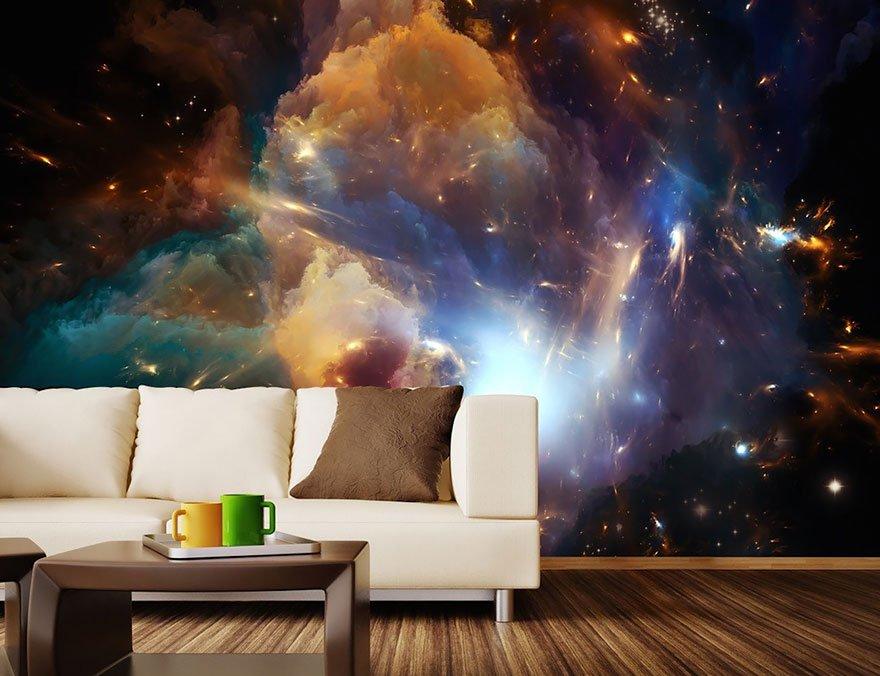 космос в интерьере