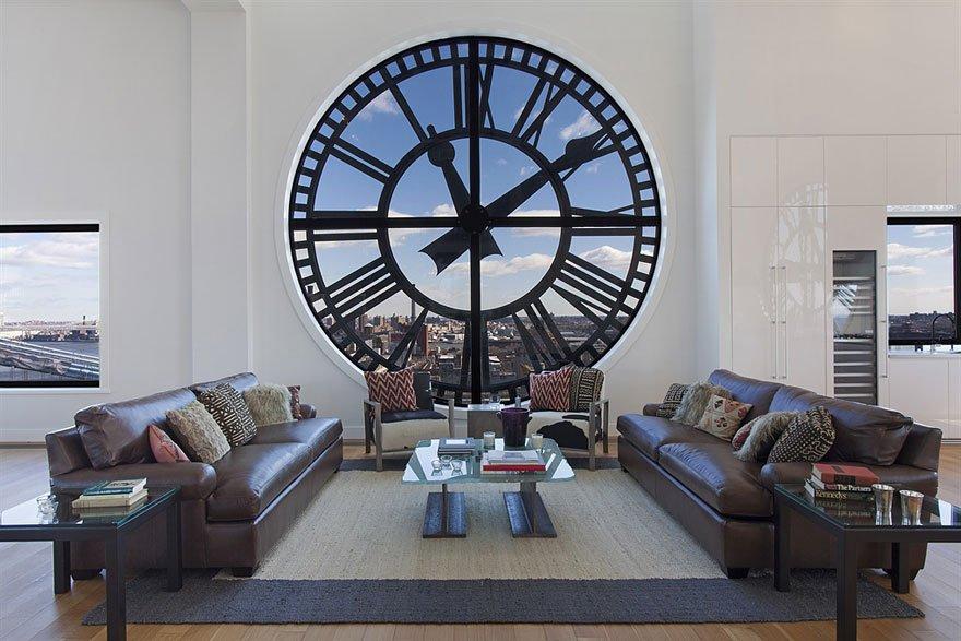 часы-окно