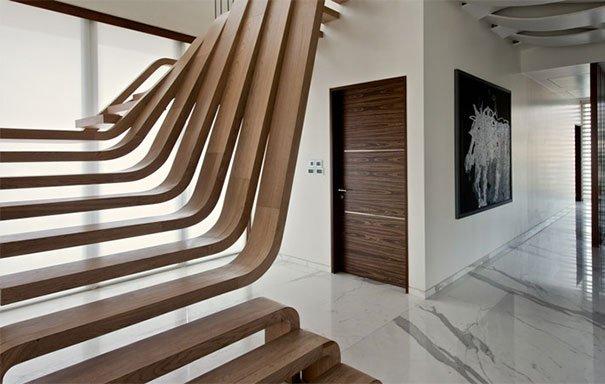 дизайн лестниц в частном доме