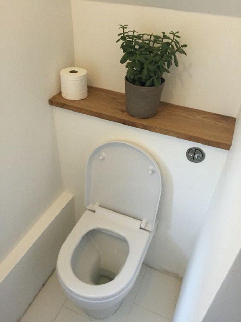 маленький туалет идеи