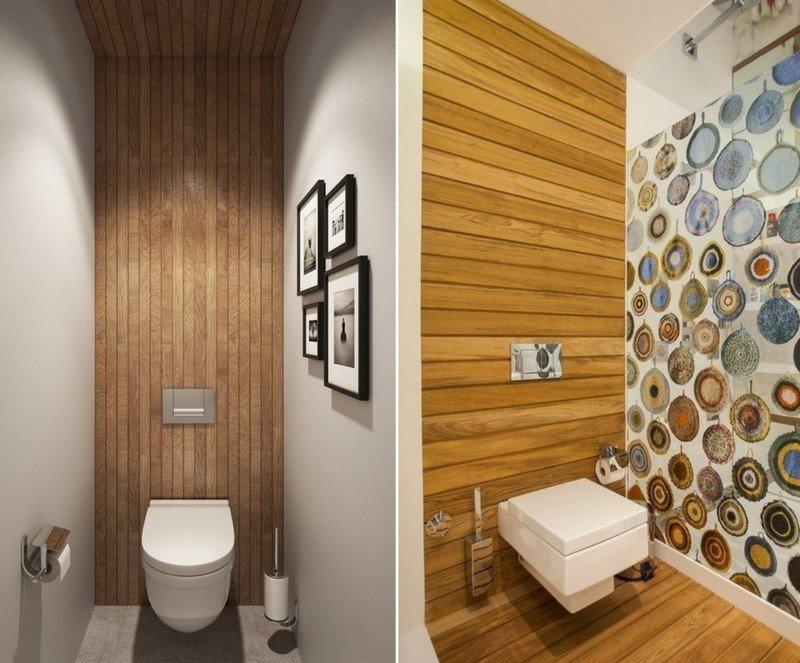 маленький туалет интерьер