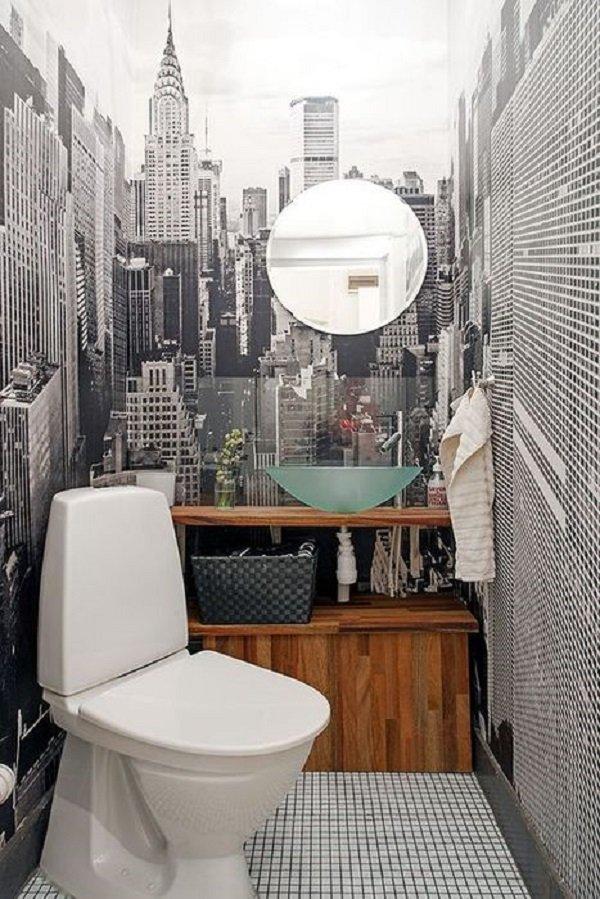 дизайн маленького туалета своими руками