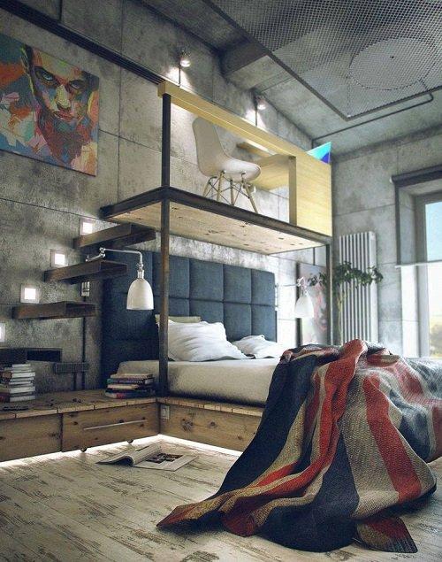 комната творческого человека