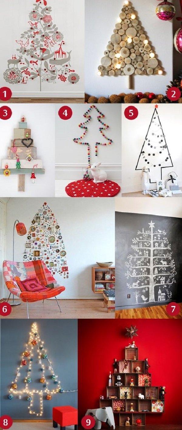 новогодняя елка из фанеры
