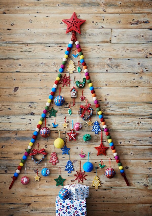 дизайн новогодней елки