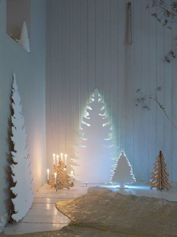 дизайн новогодней елки 2018