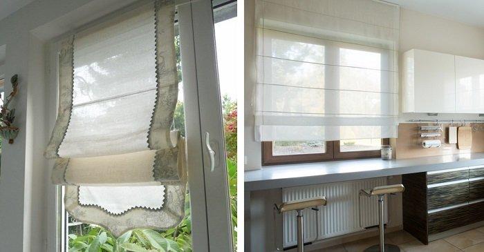 дизайн штор и тюлей для зала