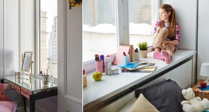 как сделать широкий подоконник в квартире